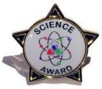 SCIENCE AWARD - STAR Lapel Badge
